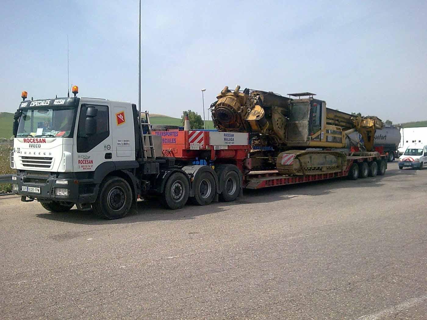 Transportes Especiales grandes dimensiones 2